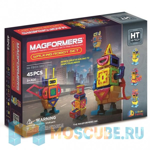 MAGFORMERS 63137 Walking Robot