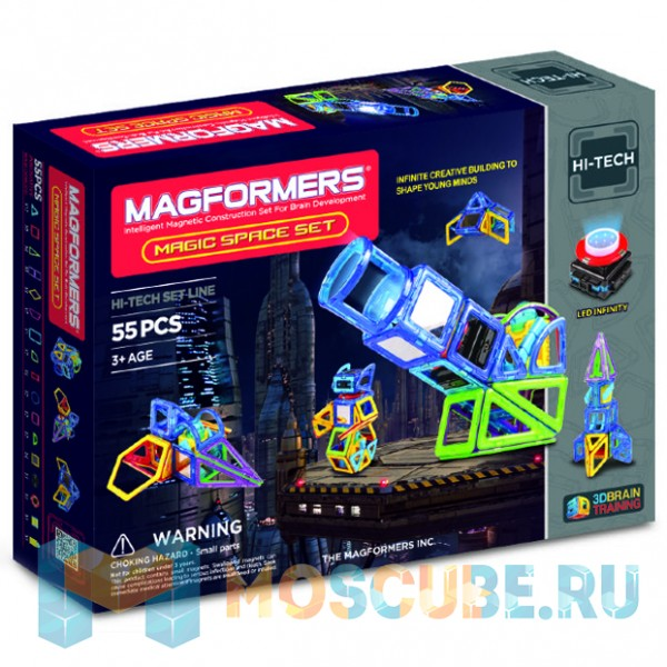 MAGFORMERS 63140 Magic Space