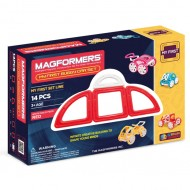 MAGFORMERS 63145 My First Buggy красный