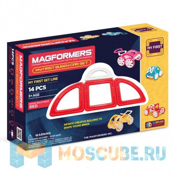 MAGFORMERS 63145 My First Buggy красный