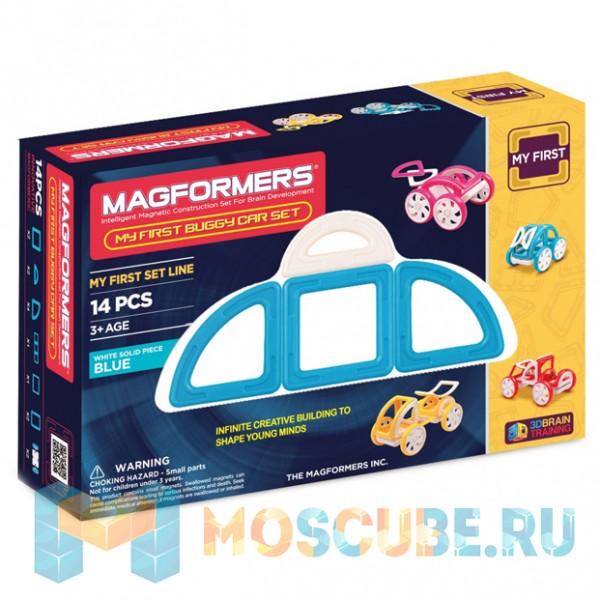 MAGFORMERS 63146 My First Buggy синий