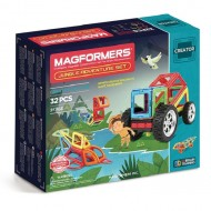 MAGFORMERS 703009 Adventure Jungle 32 set