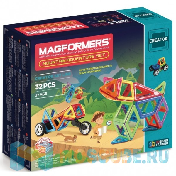 MAGFORMERS 703011 Adventure Mountain 32 set