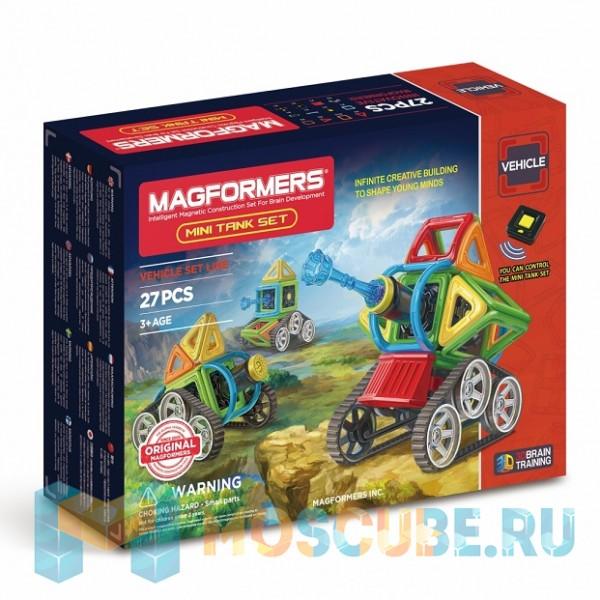 MAGFORMERS 707010 Mini Tank Set