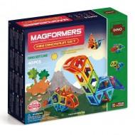 MAGFORMERS 708003 Mini Dinosaur set