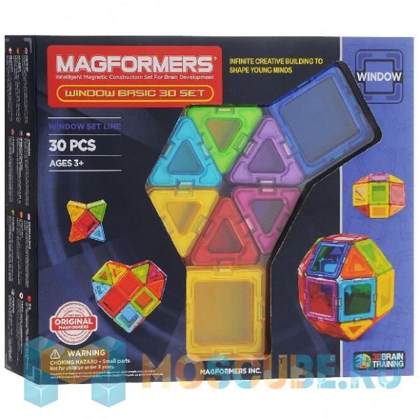 MAGFORMERS 714002 Window Basic 30 set