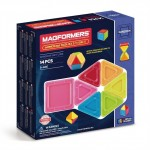 MAGFORMERS 714005 Window Solid 14 set