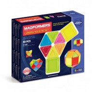 MAGFORMERS 714006 Window Solid 30 set