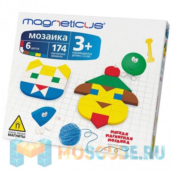 Мягкая магнитная мозаика MAGNETICUS ''Мозаика'' (174 элемента) MM-174