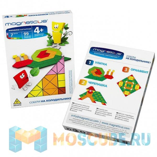 Мягкая магнитная мозаика MAGNETICUS ''Улитка'' (178 элементов) MM-01BL