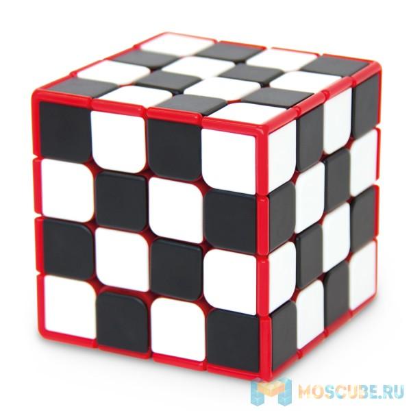 Головоломка Meffert's Шашки-Куб 4х4 (Checker Cube) М5817