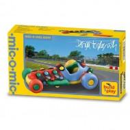 Конструктор Mic-o-Mic Автомобиль гоночный малый