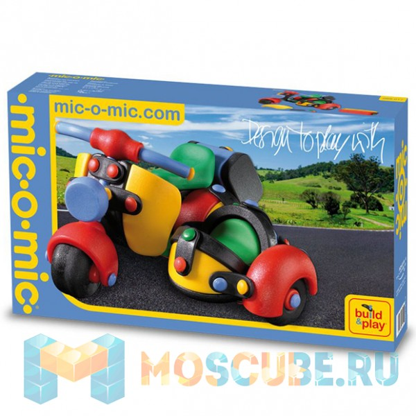 Конструктор Mic-o-Mic ''Мотоцикл трёхколёсный''