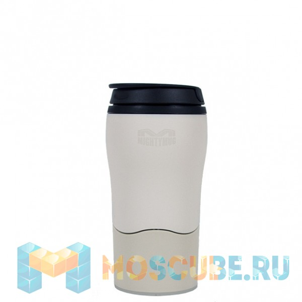 Непадающий Тамблер Mighty Mug MM Solo Кремовый 350мл