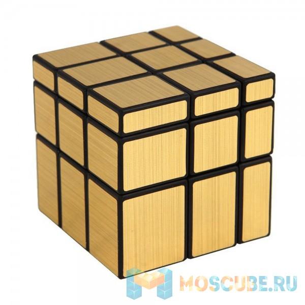 Зеркальный Кубик 3x3 Золотой 581-5.7J-1