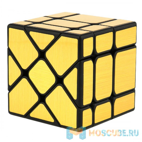 Зеркальный Кубик Фишер Золотой 581-5.7P-1