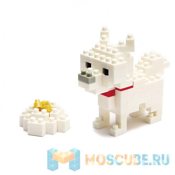 Конструктор Nanoblock Собака Хоккайдо NBC-005