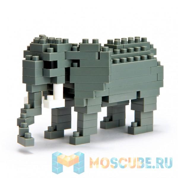 Конструктор Nanoblock Африканский Слон NBC-035