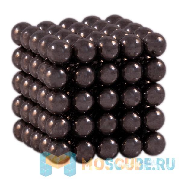 Магнитные шарики Чёрный 6мм 125