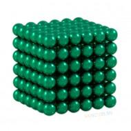 Магнитный набор Forceberg Cube Зелёный 5мм 216 Арт.-9-4818043