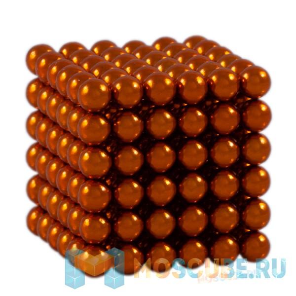 Магнитный набор Forceberg Cube Оранжевый 5мм 216 Арт.-9-4818048