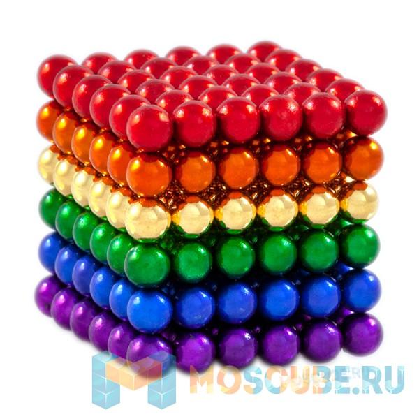 Магнитные шарики Crazy balls Радуга 5мм 216 CB5MULTI-COLOR