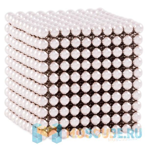Магнитные шарики Серебро 5мм 1000