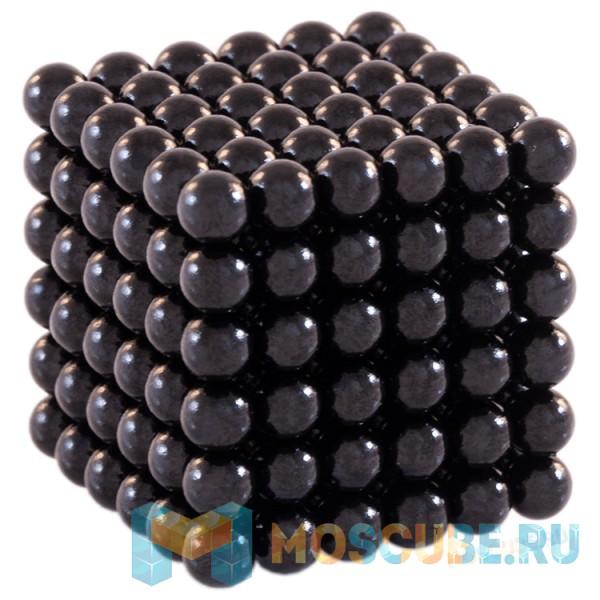 Магнитный набор Forceberg Cube Чёрный 5мм 216 Арт.-9-4818032
