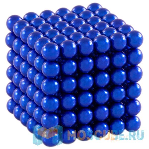 Магнитный набор Forceberg Cube Синий 5мм 216 Арт.-9-4818042