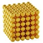Магнитные шарики Золото 6мм 216