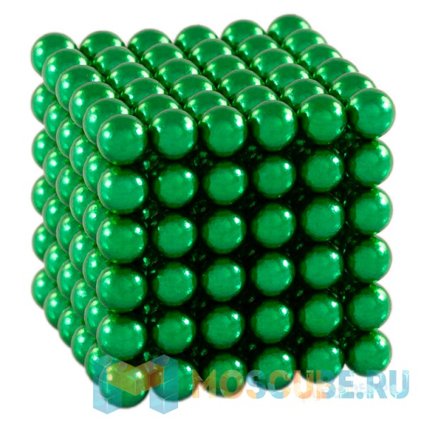 Неокуб (Neocube) Зеленый 5мм 216