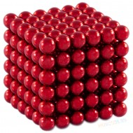 Магнитный набор Forceberg Cube Красный 5мм 216 Арт.-9-4818050