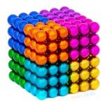 """Магнитные шарики """"Восьмицветик"""" 5мм 216"""