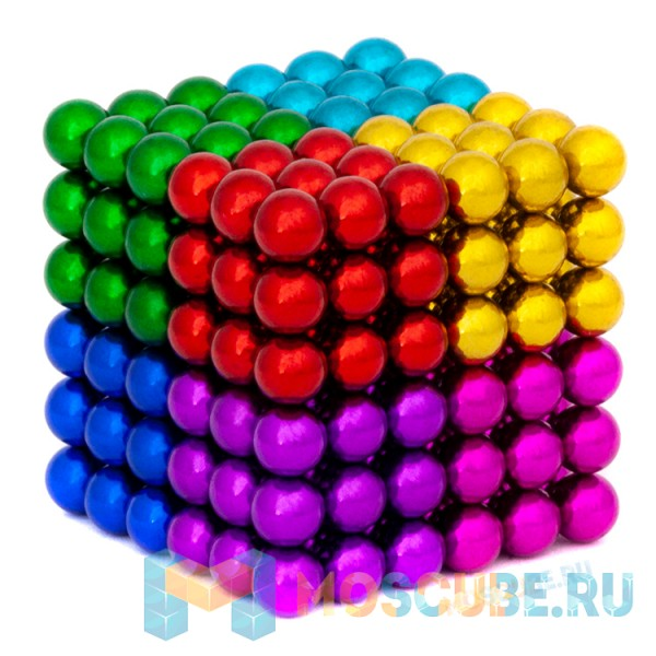Магнитные шарики Magnetic Cube Цветной 5мм 216 Арт.207-101-9