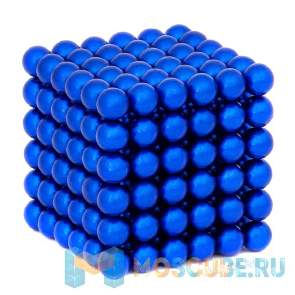 Магнитные шарики Синий 5мм 216