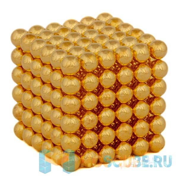 Магнитные шарики Золото 5мм 216