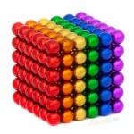 Магнитные шарики Радуга 5мм 216