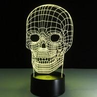 """3D светильник """"Череп"""""""
