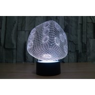 "3D светильник ""Кубик"" 7"