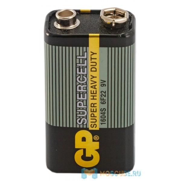 Батарейка GP Supercell 9V 1604S 6F22