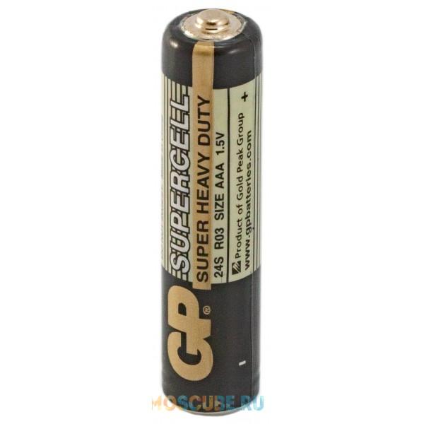 Батарейка GP Supercell AAA 24S R03