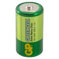 Батарейка GP Greencell D 13G R20P