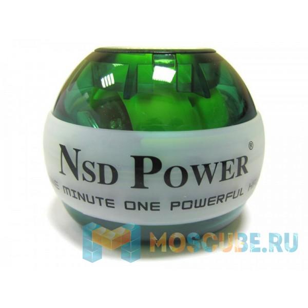 Кистевой тренажер NSD Powerball Green PB-688 GREEN