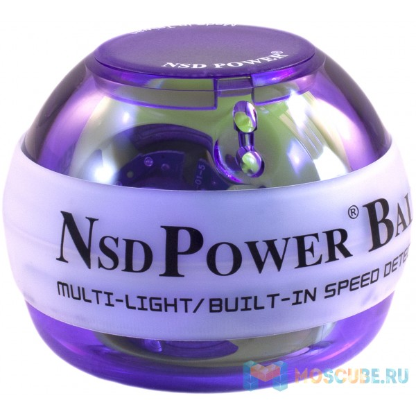 Кистевой тренажер NSD Powerball Multi Light PB-688ML PURPLE