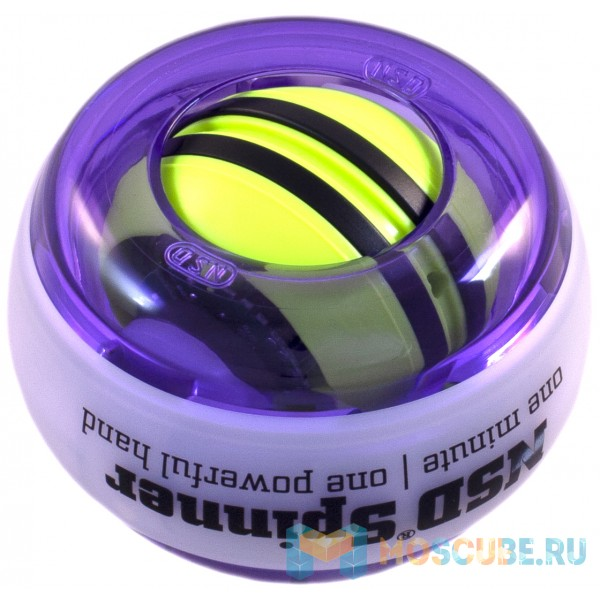 Кистевой тренажер NSD Spinner Autostart Multi Light PB-688AML PURPLE