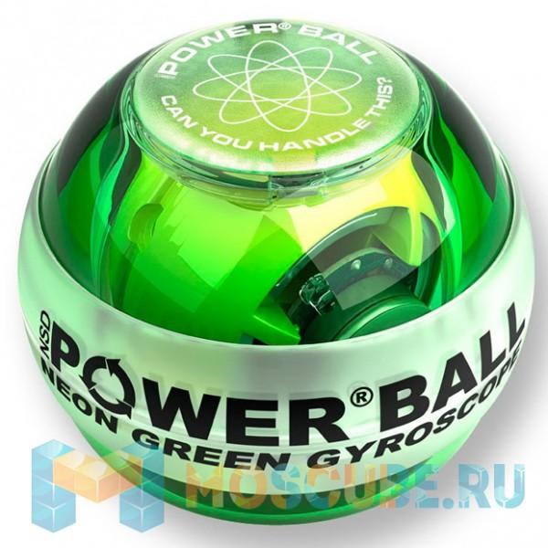 Кистевой тренажер NSD Powerball Neon Green PB-688L GREEN
