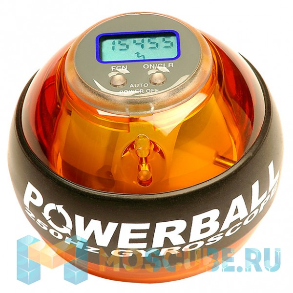 Кистевой тренажер NSD Powerball Neon Amber Pro PB-688LC AMBER