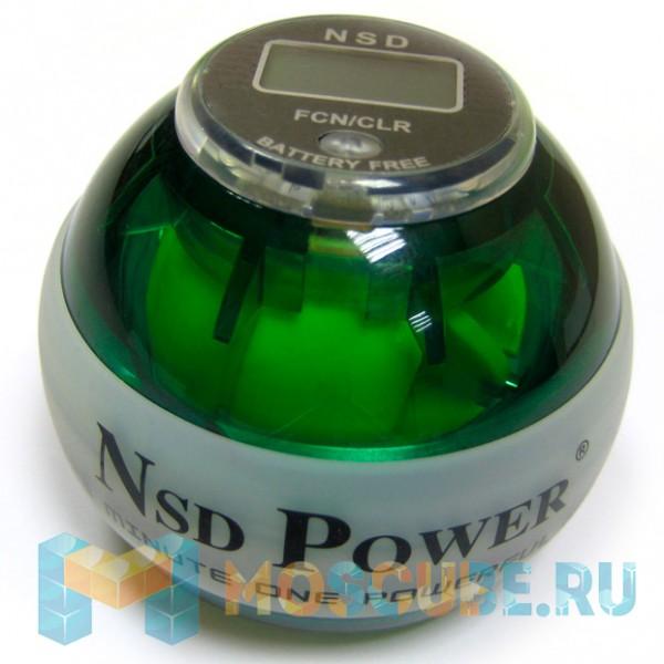 Кистевой тренажер NSD Powerball Neon Green Pro PB-688LC GREEN