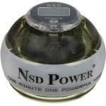 Кистевой тренажер NSD Powerball Neon White Pro PB-688LC WHITE