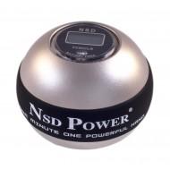 Кистевой тренажер NSD Powerball Metal Titan Autostart Pro PB-888AC SILVER